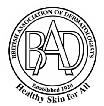 British Association of Dermatologist - healthy skin for all logo cropped