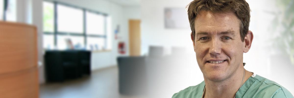 Exeter, Devon Consultant Dermatologist & skincare expert Dr Christopher Bower
